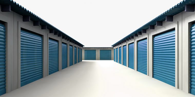 Storage facility outdoors